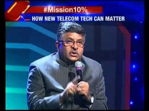 Kartikeya sharma led NewsX host Vision 4G LTE telecom conclave 2015