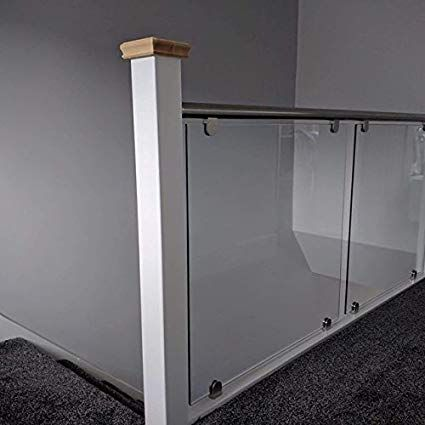 Best Steel Handrail Glass Landing Balustrade Kit Fit Landing 400 x 300