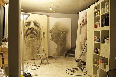 Annemarie Busschers. Studio