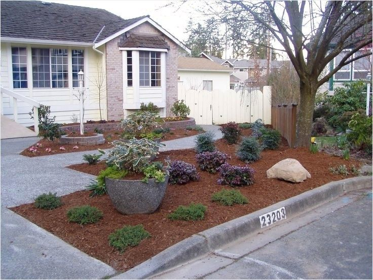 41 Adorable No Lawn Front Yard Landscaping That Will Impress You Decorequired Small Front Yard Landscaping Front Yard Landscaping Design Front Yard Landscaping