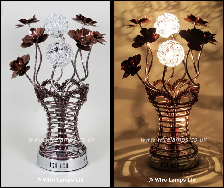 44 best wire table lamps images on pinterest wire table flower httpwirelampswlt3103 3coffee greentooth Gallery