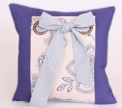 Yastıkminder Koton #Mavi #Kum #Kuş #Gözü #Yastık #Pillows #Cushion