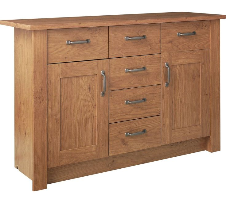 Buy Collection Ohio 2 Door 6 Drawer Sideboard - Oak Effect at Argos.co.uk, visit Argos.co.uk to shop online for Sideboards and dressers, Living room furniture, Home and garden