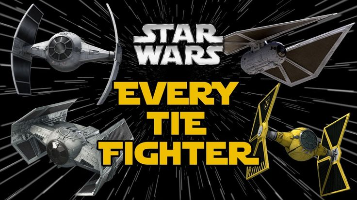 All TIE Fighter Types and Variants in Star Wars Canon