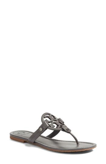 fcb9604338a21 Free shipping and returns on Tory Burch  Miller  Flip Flop (Women) at  Nordstrom.com. A breezy