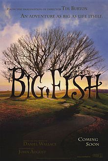 Big Fish is a 2003 American fantasy adventure film based on the 1998 novel of the same name by Daniel Wallace. The film was directed by Tim Burton and stars Albert Finney, Ewan McGregor, Billy Crudup, Jessica Lange and Marion Cotillard.