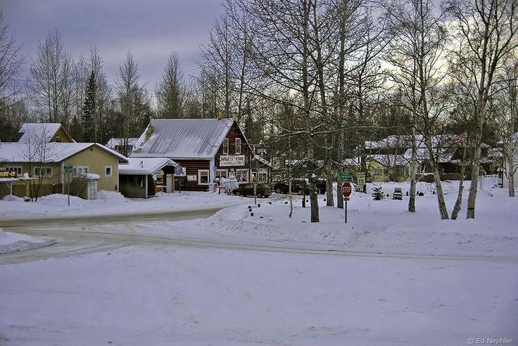 Город Кетчикан (Ketchikan, Alaska)
