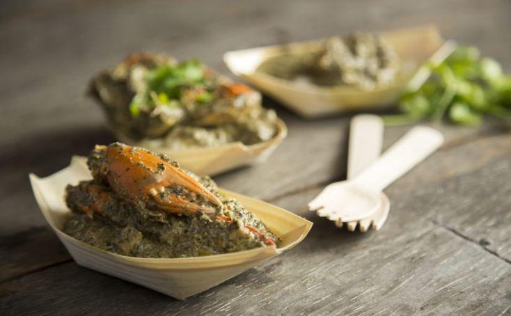 Sonia's Crab and Coconut Spinach Matapa
