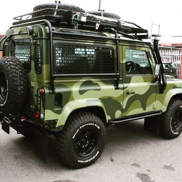 Our passion is to redefine the Defender! - #TwistedDefender #Camouflage…