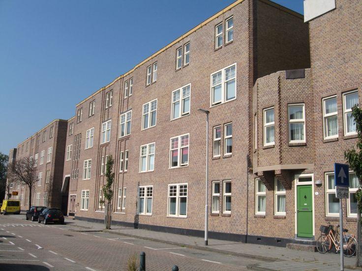 Voorkant justus van effen complex rotterdam wijk spangen for Wijk in rotterdam