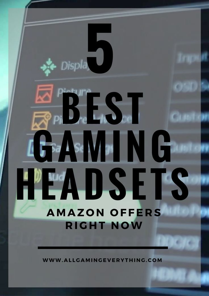 The 5 Best Gaming Headsets Amazon Offers Right Now!