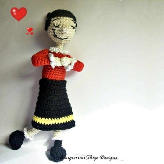 Crochet Pattern Popeye Doll : 111 best images about Amigurumis on Pinterest Free ...