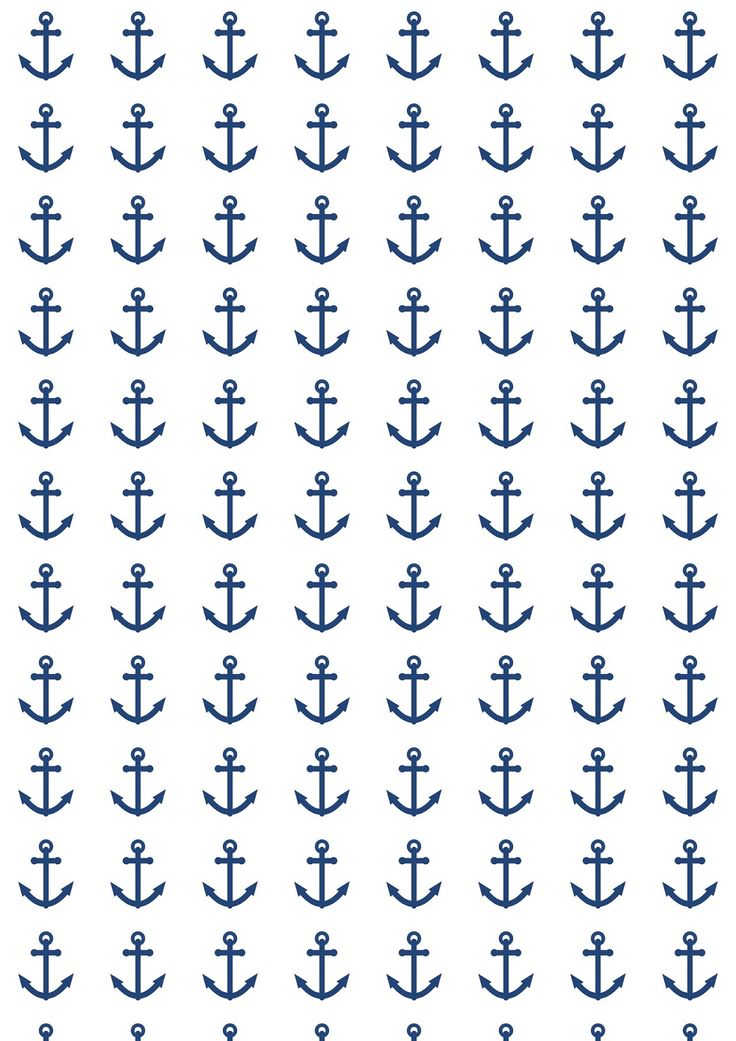 FREE printable nautical anchor pattern paper