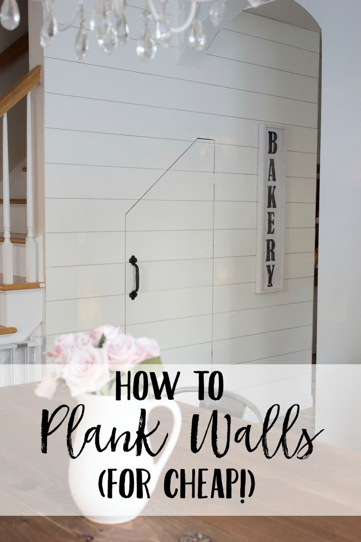 30 best images about clapboard walls on pinterest - How to install shiplap on interior walls ...