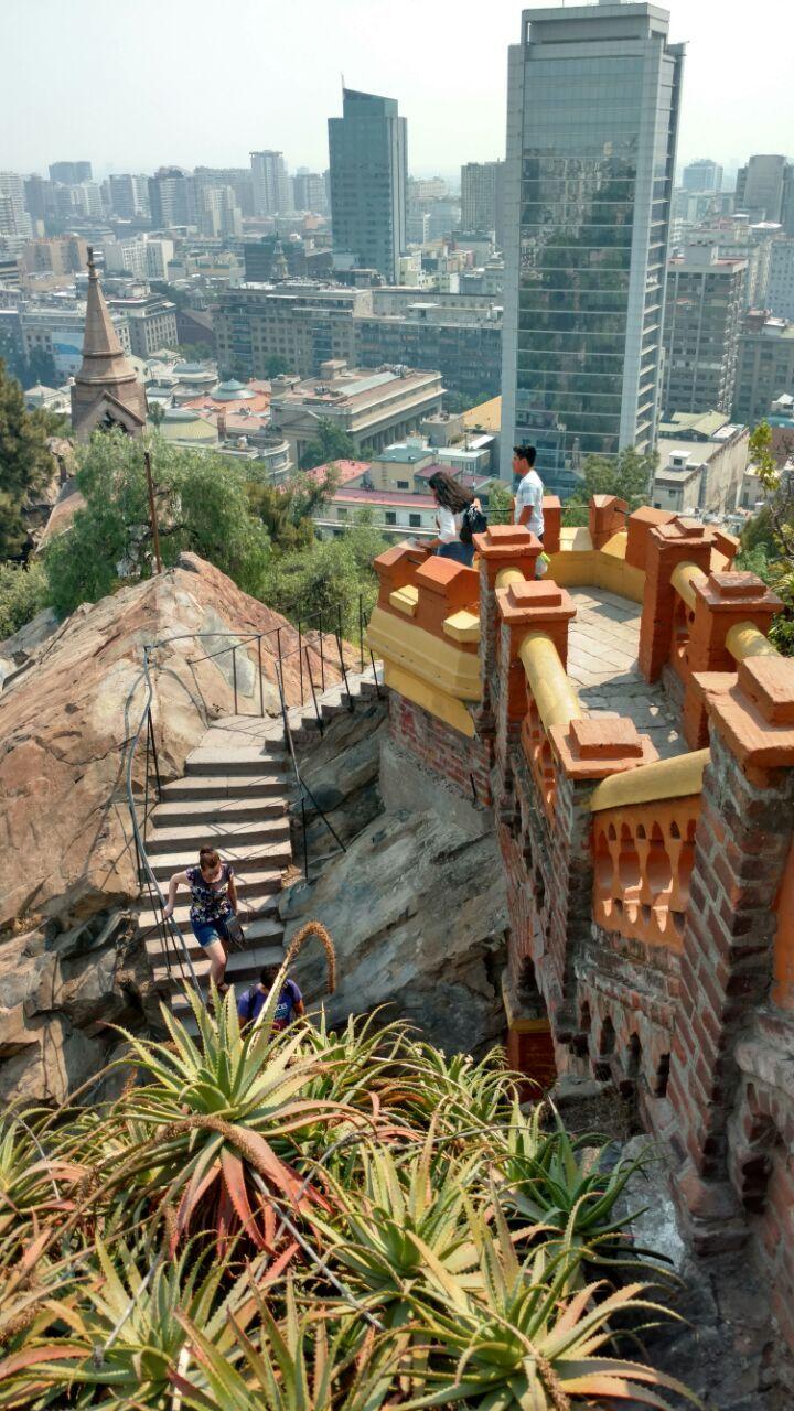 Cerro Santa Lucía - Santiago