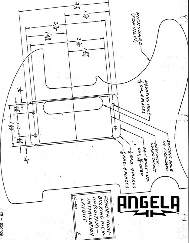 Fender Wide Range Pickup Wiring Diagram
