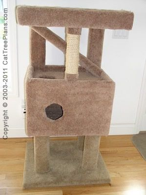 1000 images about ww animal furniture on pinterest cat for Cat tree blueprints