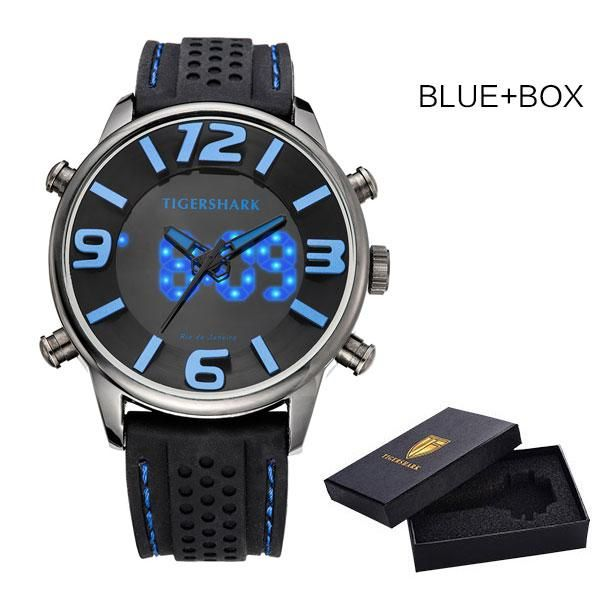 Mens Waterproof Watch with Rubber Band