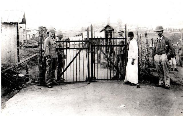 Geni - Photos in Photos from Anglo Boere Oorlog/Boer War (1899-1902) POW Ceylon Main Gate leading into Diyatalawa Boer Prisoner of war camp. Ceylon