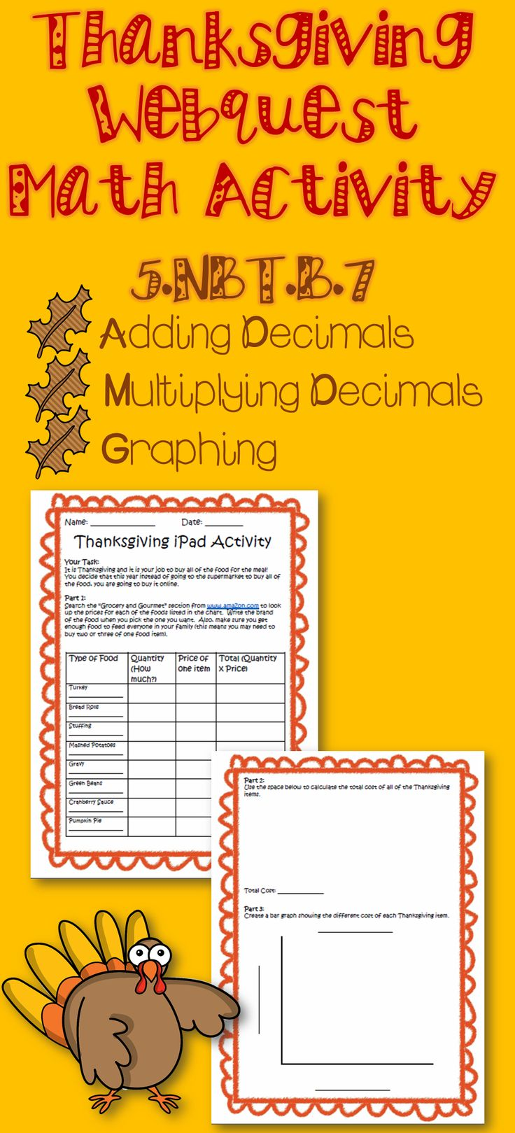 Worksheet Thanksgiving Graphing Worksheet Fun Worksheet Study Site