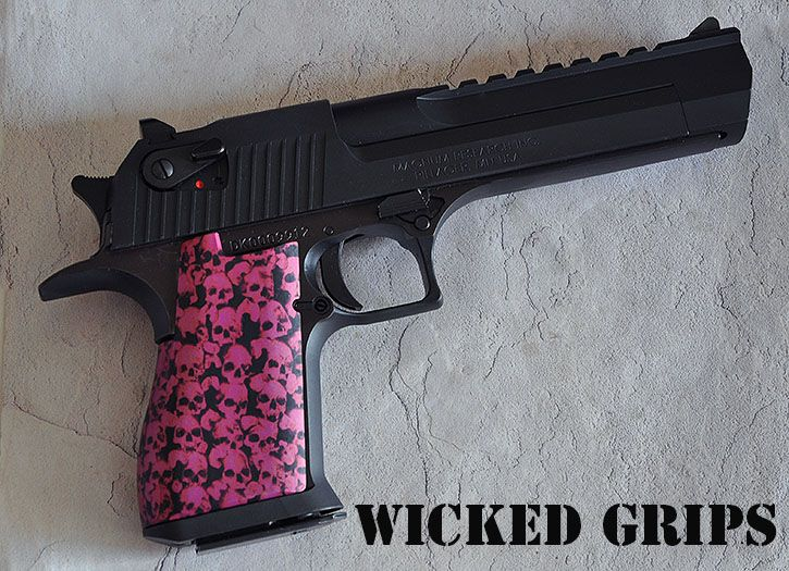 Pin By Michele Baron On Guns Desert Eagle Pink Skull