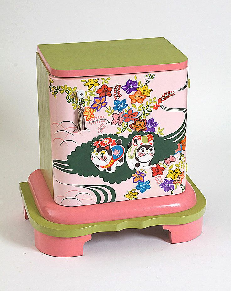 Hand painted old furniture