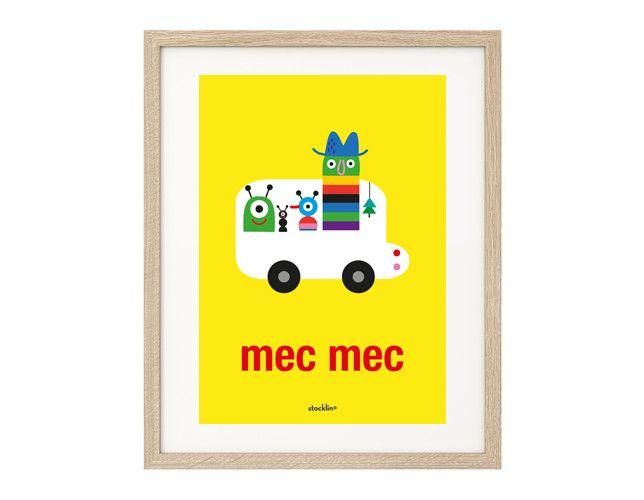 "Ilustración / Illustration ""mecmec"". Printable http://es.dawanda.com/shop/linavila"