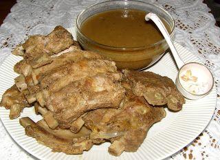 W Mojej Kuchni Lubię.. : szybkowar-żeberka cielęce z cebulowym sosem...