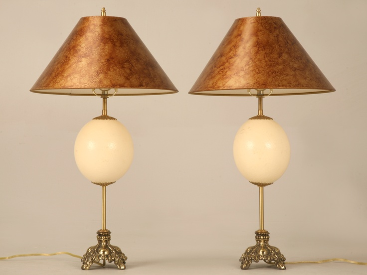 13 best Ostrich Egg Lamps images on Pinterest | Ostriches, Eggs ...