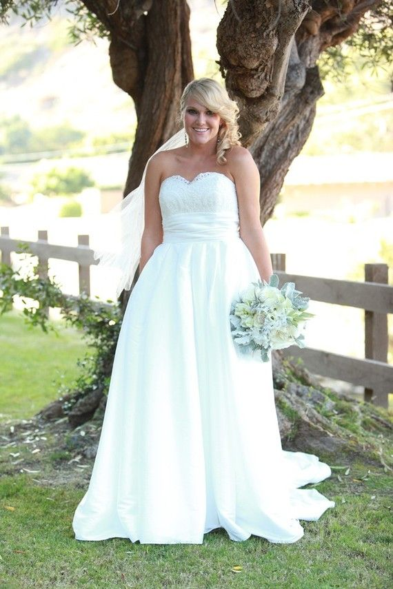 25 Best Wedding Dresses Images On Pinterest Fat Bride The And Plus Size