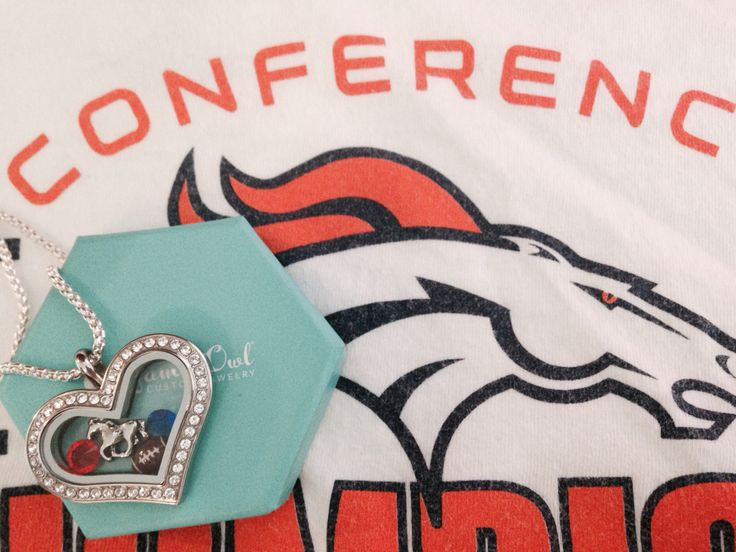 It's #broncoday! Tag yourself on my Facebook page for a chance to win an Origami Owl football charm! Become a member of my #vip group!