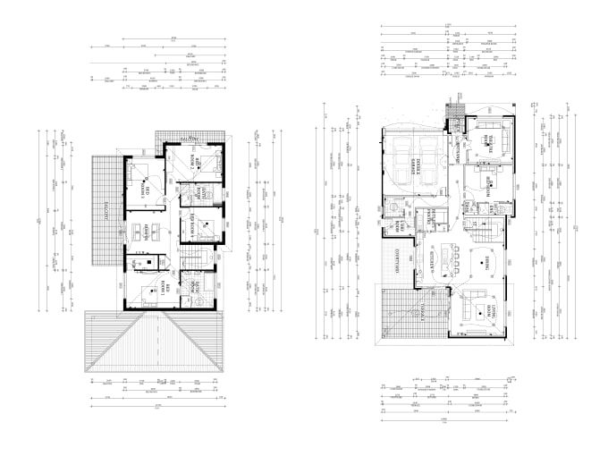 I Will Design Your Architectural Floor Plan In Autocad Architectural Floor Plans Rendered Floor Plan Floor Plan Drawing