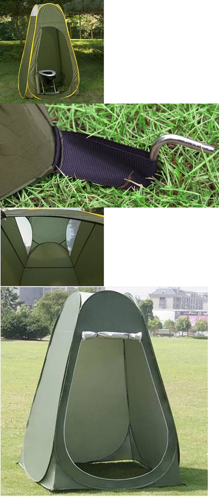 Other Camping Hygiene Accs 181400: Faswin Pop Up Pod Toilet Tent Privacy Shelter Tent Camping Shower Potable Outdoo -> BUY IT NOW ONLY: $33.79 on eBay!