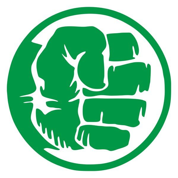 Hulk Fist 1 - Vinyl Decal Sticker - Comic - Bruce Banner - Super Hero