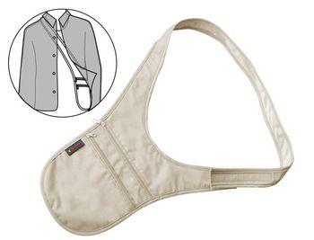 Grátis frete - Travel Gear invisível bolso dinheiro bolsa bolsa de ombro bolsa de viagem passaporte saco carteira de segurança