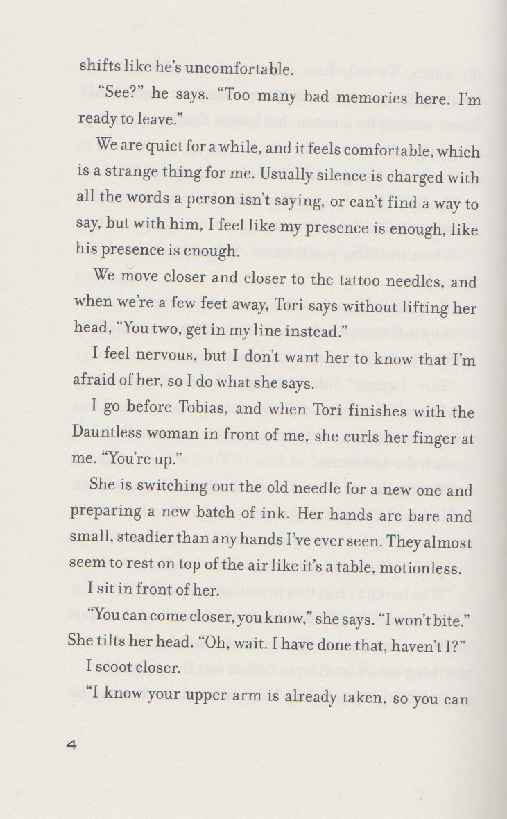 this is a deleted scene from allegiant which is in end of my book. i was told not everyone has this so here you go just click to enlarge btw