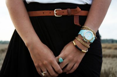 Turquoise Triwa.