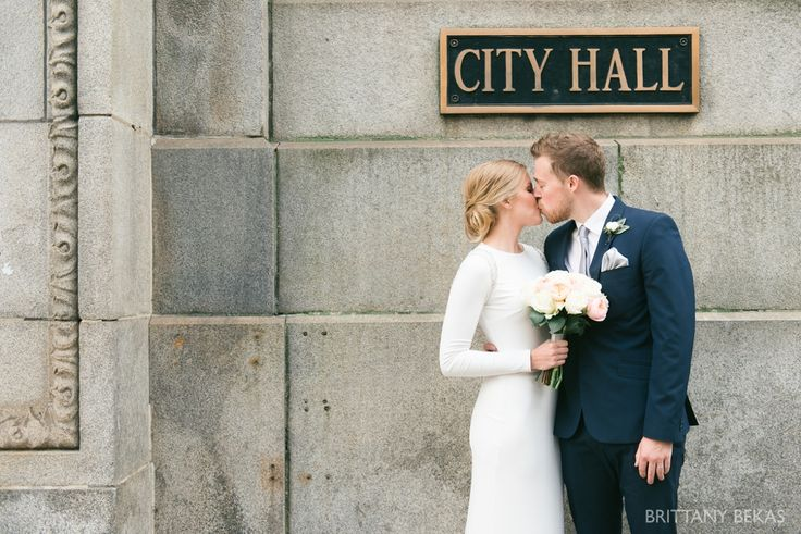 Chicago Wedding - Chicago Courthouse + Chicago Loft Wedding Photos_0013