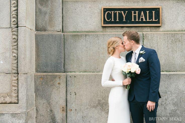 Chicago Wedding - Chicago Courthouse + Chicago Loft Wedding Photos_0013