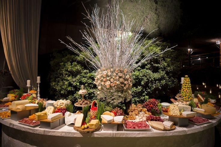Mesa de quesos para tu boda