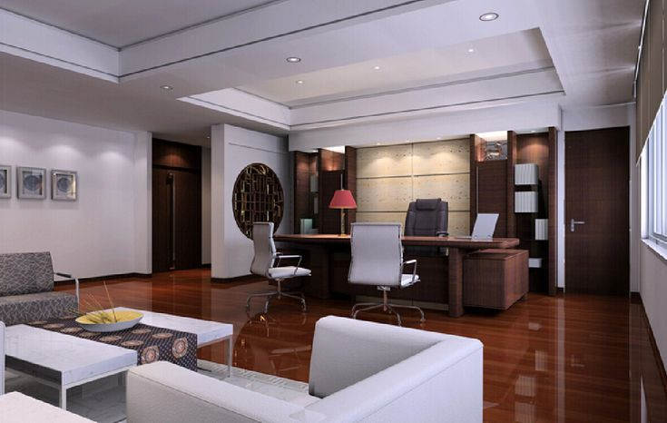 ceo offices pictures | CEO office with wooden floors modern Chinese style | Interior Design