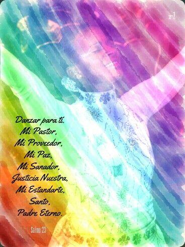 La naturaleza de Dios expresada por ocho de Sus Nombres en el Salmo 23 . Jehová Ro'hi, Jehová Jiré, Jehová Shalom, Jehová Rafa, Jehová Tsidkenu, Jehová Nissi, Jehová M'Kades, Jehová Shama.