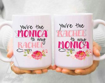 Dorm decor, FRIENDS TV Show Mug, f.r.i.e.n.d.s, best friend mugs, phobe, rachel, monica, chandler,bff gifts,best friend birthday gifts  Browse our full collection here: https://www.etsy.com/ca/shop/artRuss  High quality ceramic coffee mug. Real art every morning with your coffee or tea! Printed on both sides, so you can see the design no matter the angle. Colors may appear slightly different on your digital screen. Mugs will be shipped within 3-5 business days following payment, in a thick…