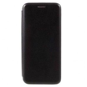Husa Carte (BOOK) Samsung Galaxy S8 Plus, Black/ Negru, ULTRASLIM, Stand Birou, Piele Ecologica