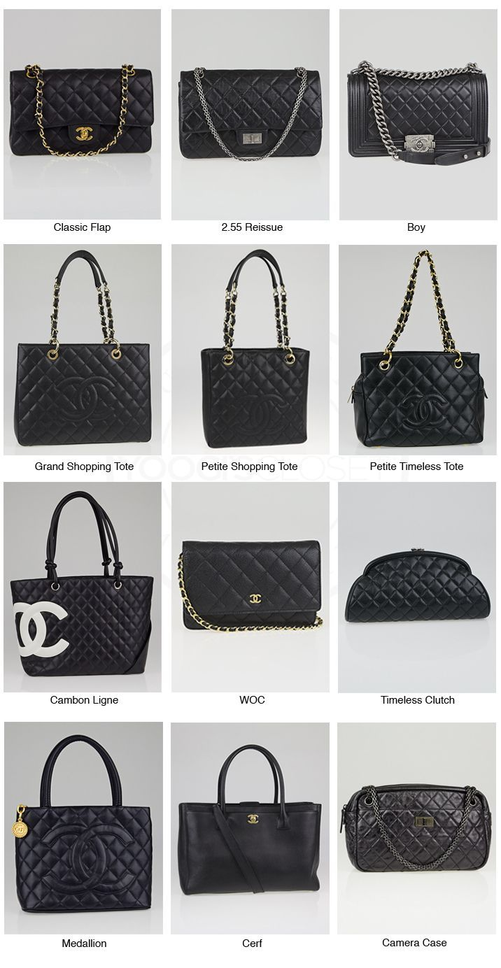 f050ffd55cfbf2 Chanel Classic Reference Chart | bang | Bags, Classic handbags ...