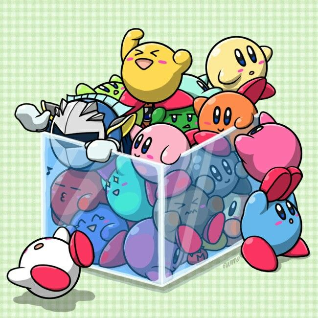 """So many Kirby's...."""