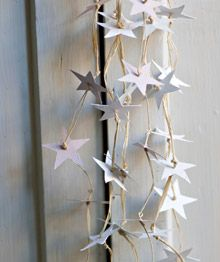 holiday star garland