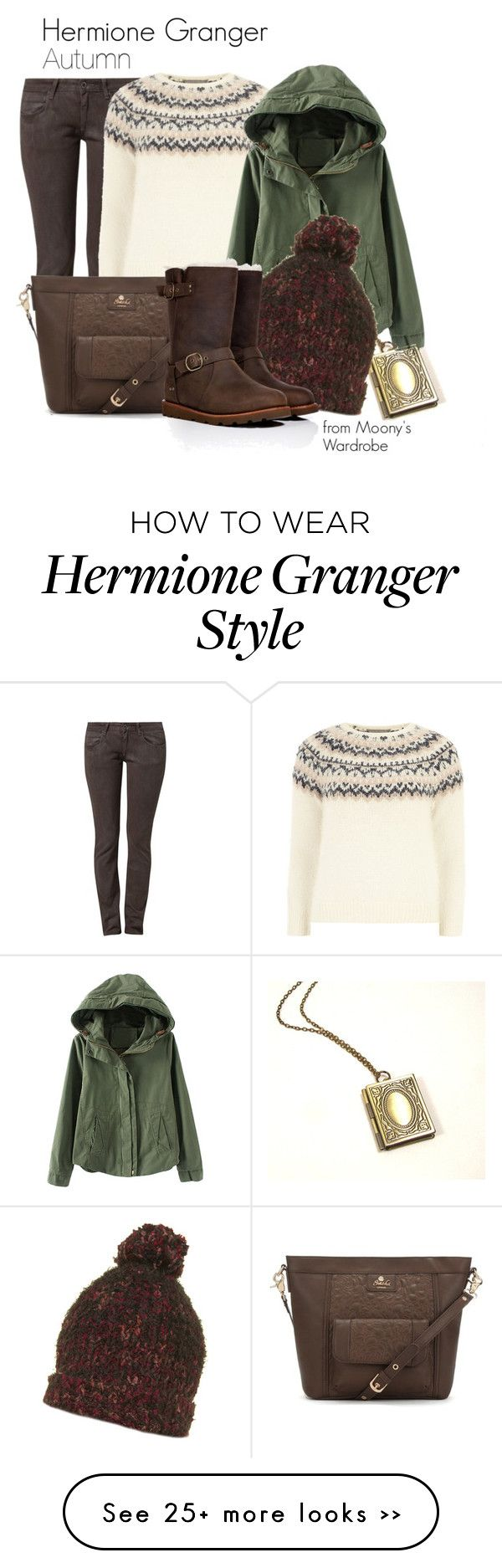 """Hermione Granger: Autumn"" by evalupin on Polyvore"