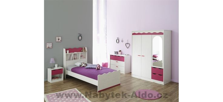 Minimalistický dětský pokoj pro holky