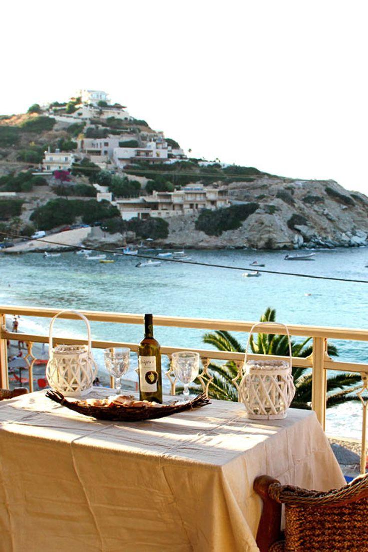 Beachfront Apartment in Agia Pelagia, Heraklion, Crete